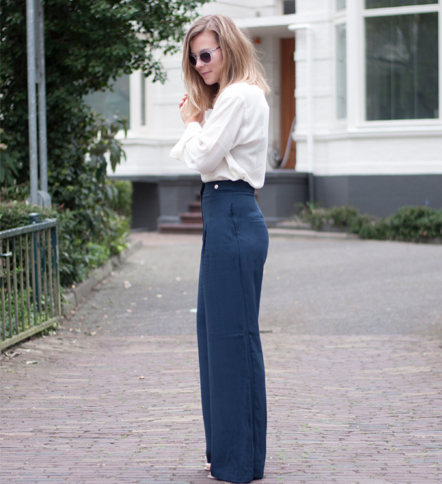check-out df0f8 5d895 Palazzo trousers and bell sleeves   Style by Jules