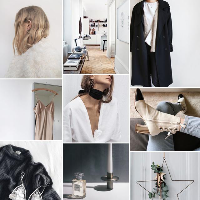 Monday, Monday Inspiration, Mood board, collage, style, fashion, women fashion, Tumblr, Pinterest, inspiration, fashion blogger, Style by Jules