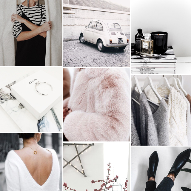 Monday, Monday Inspiration, style, fashion, women fashion, mood board, collage, fashion blogger, Style by Jules, Christmas, December, winter, cozy