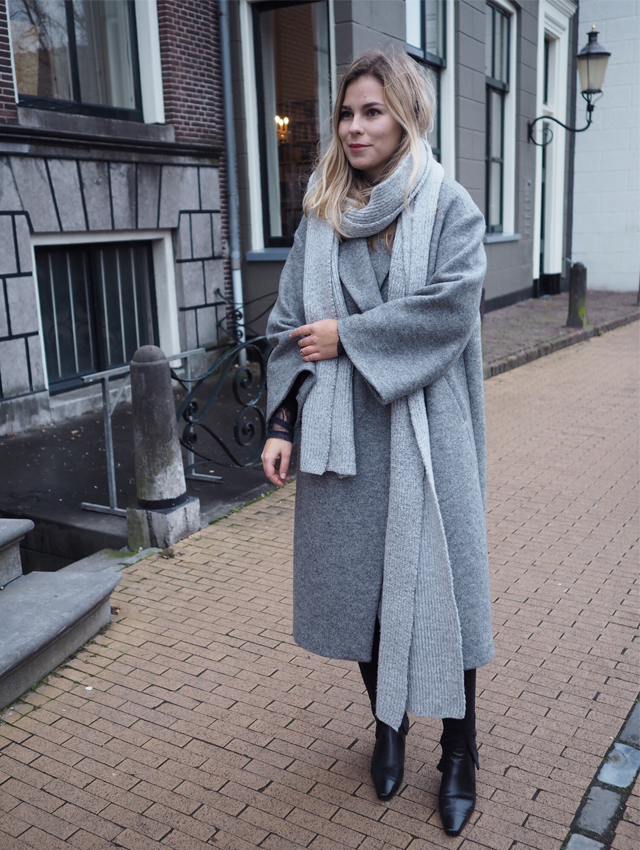 outfit, OOTD, H&M Trend, oversized coat, outerwear, street style, women fashion, trends, fashion blogger, lace, Style by Jules