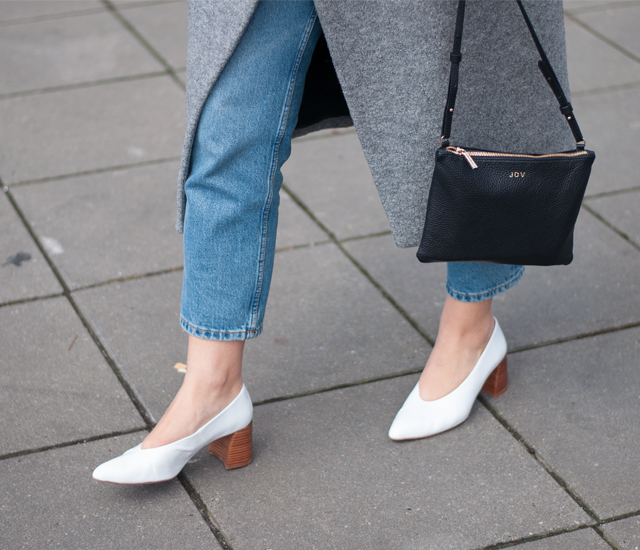 when winter meets spring zara white heels