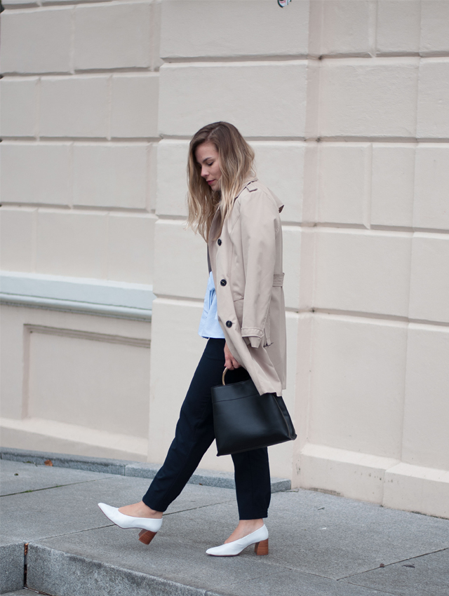 Workwear outfit spring street style