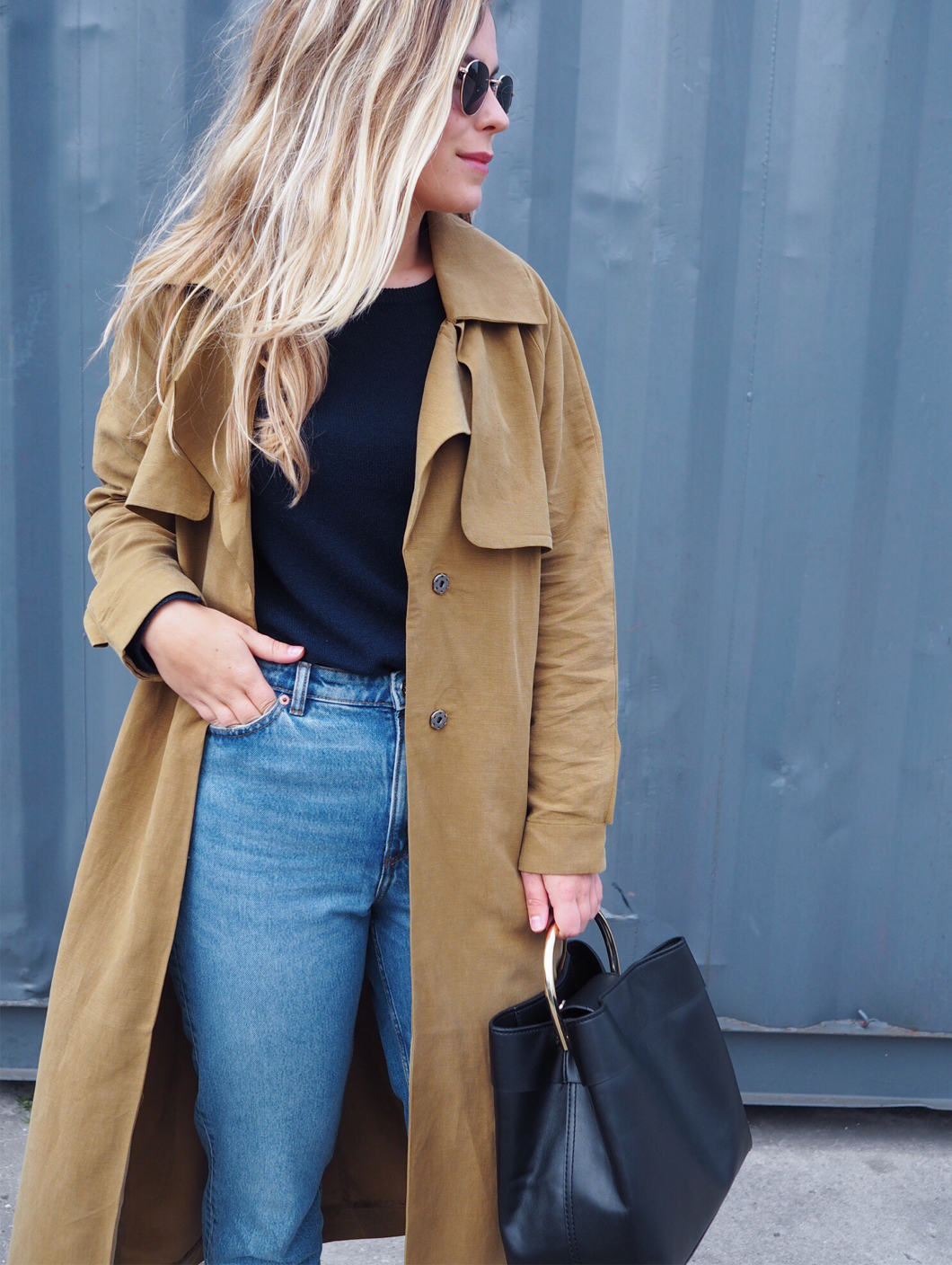 OOTD The Trench cashmere