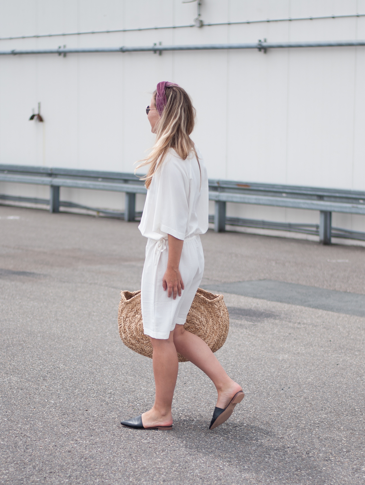 Summer Essentials Straw Bag